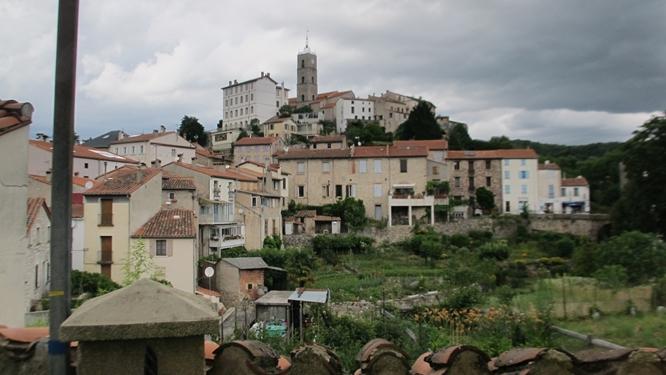View of Saint-Laurent-de-Cerdans in the Pyrenees. Photo: Elizabeth Kemble for Travellati Tours.