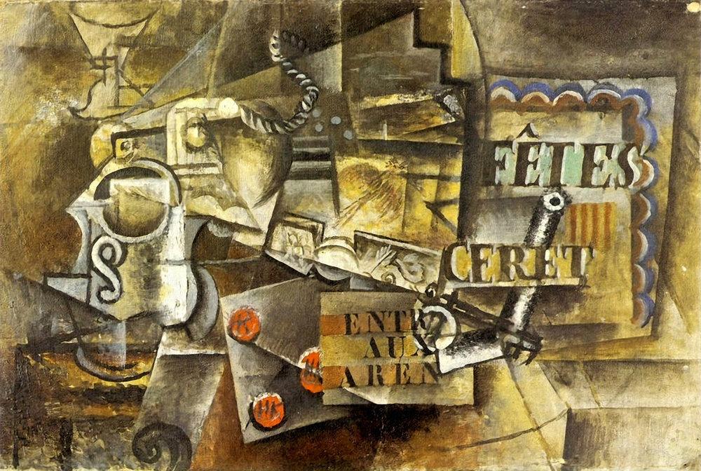 Fêtes de Céret, Pablo Picasso, 1912.