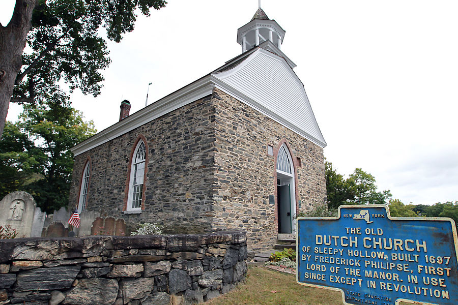 The Old Dutch Church of Sleepy Hollow, NY. Photo Jennifer Mitchell.