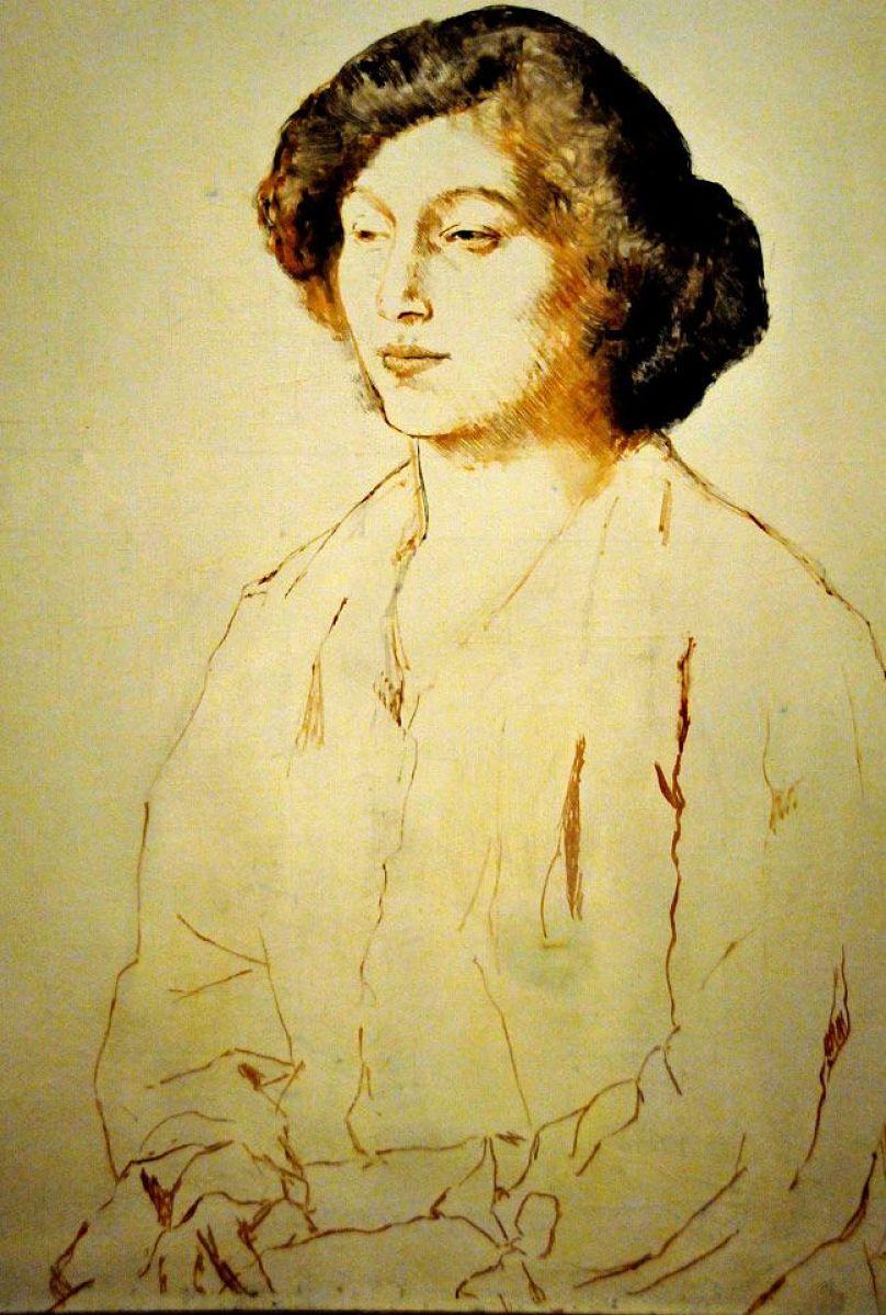 Fernande Olivier, Picasso drawing.