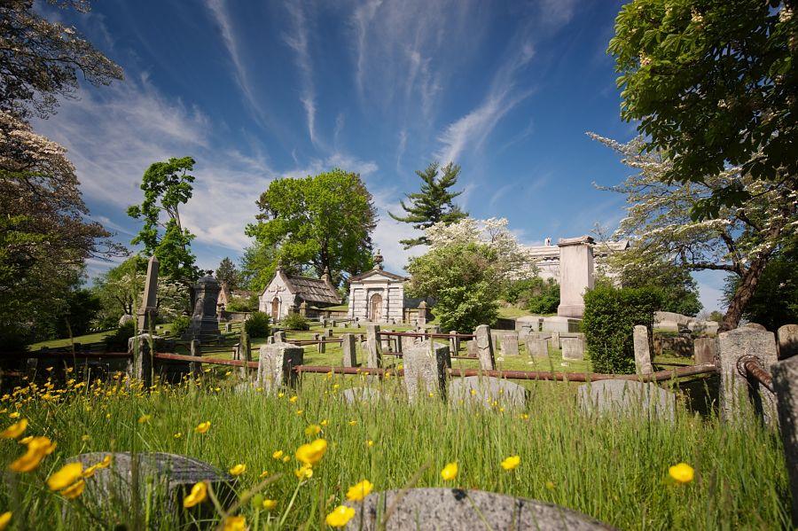 Sleepy Hollow Cemetery in Sleepy Hollow, New York. Photo: Jim Logan.