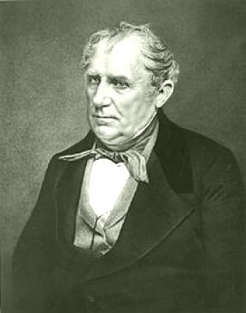 Photograph of James Fenimore Cooper by Matthew Brady.
