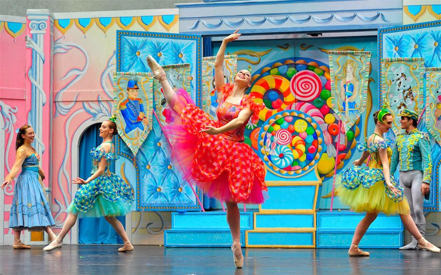 New York Theatre Ballet performing The Nutcracker at the historic Tarrytown Music Hall.