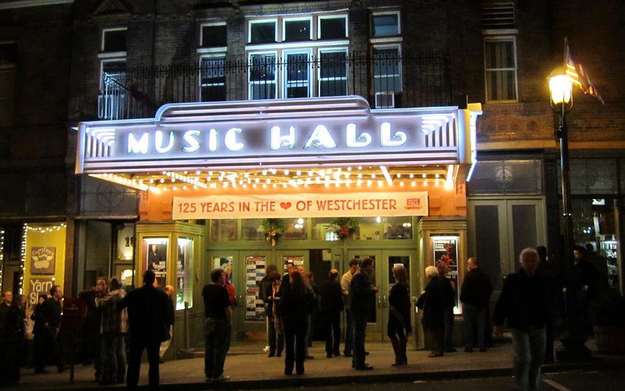 The historic Tarrytown Music Hall.