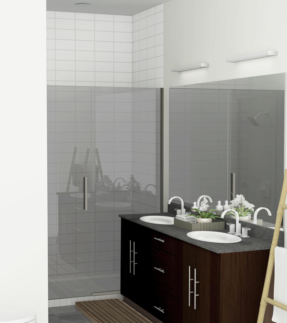 Mangum Flats Condo Bathroom