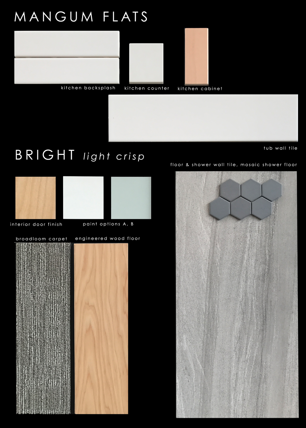 Finish Package: Bright light crisp