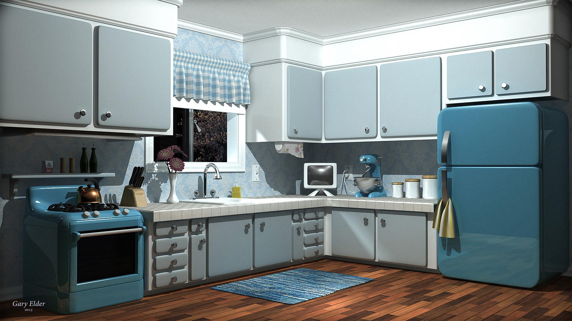 Retro Kitchen Page — Gary Elder