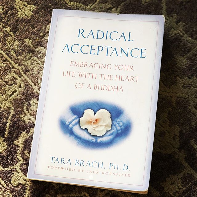 "I LOVED this book with a capital 💜. If you're struggling with self acceptance, acceptance of others, living in the present moment or just interested in less suffering (I think that captures all of us, doesn't it?)…then Radical Acceptance is for you. This book is definitely going into my ""to read again"" pile 📚 Link to purchase in profile. ... #radicalacceptance #selflove #selfcare #acceptance #mindfulness #mindful #presence #bepresent #compassion #kindness #wellnesscoach #thesturdylifebookclub #thesturdylife"
