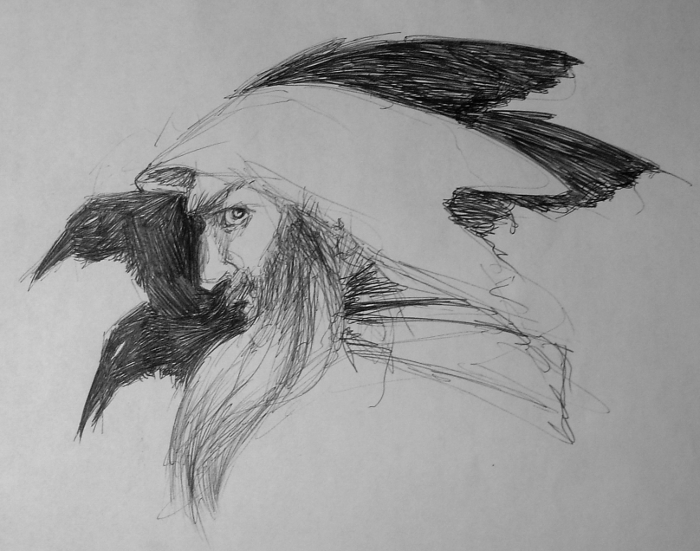 Odin_sketch_pcarpenter