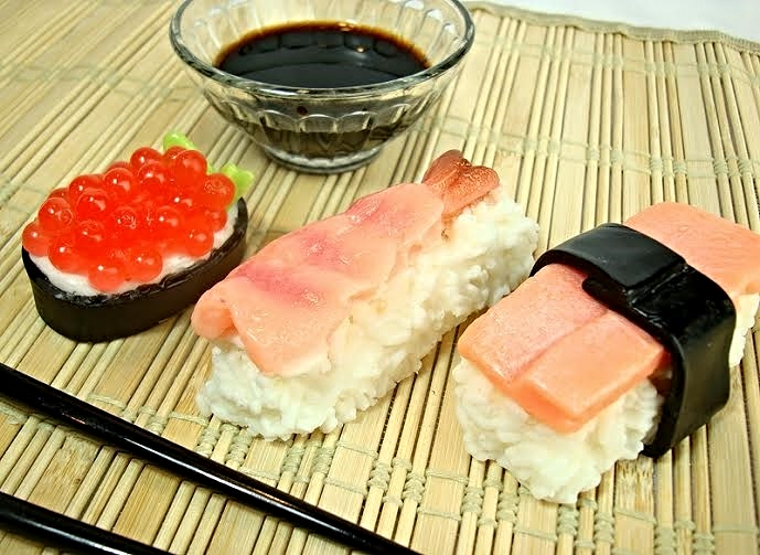 Soapopotamus' Sushi Soap Set ($10)