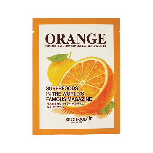 Skin Food 's  Everyday Orange Facial Mask Sheet