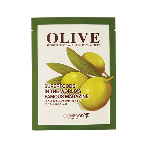 Skin Food  's   Everyday Olive Facial Mask Sheet