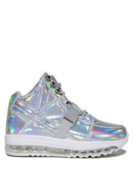 YRU's Qozmo Aiire- Light Up Hologram Sneakers ($115)
