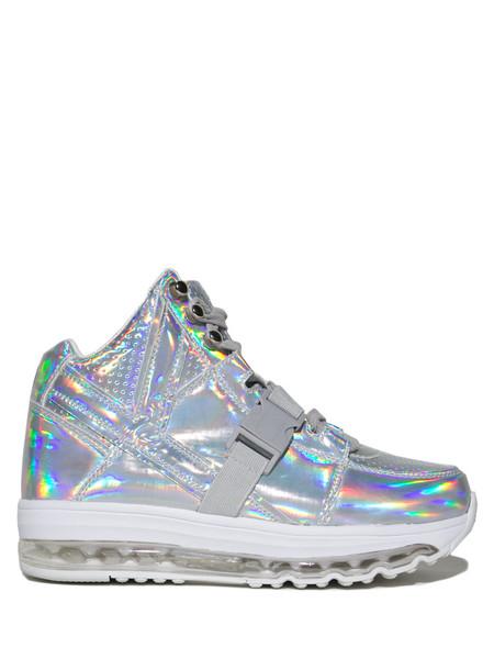 YRU 's  Qozmo Aiire- Light Up Hologram Sneakers  ($115)