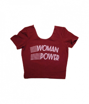 Proper Gnar's Woman Power Crop Top ($24)