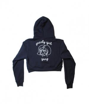 Proper Gnar 's  Girl Gang Cropped Hoodie  ($35)