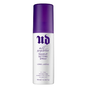 Urban Decay 's  All Nighter Long-Lasting Makeup Setting Spray   ($26)