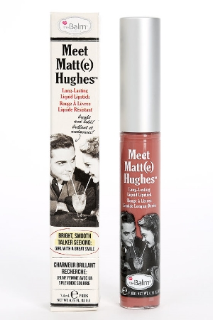 theBalm Cosmetics '  Meet Matt(e) Hughes® Long Lasting Liquid Lipstick  In Committed  ($17)