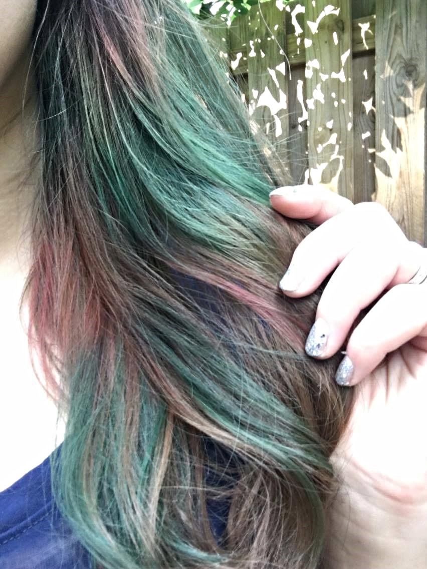 Do It Yourself Oil Slick Hair Lovelierie