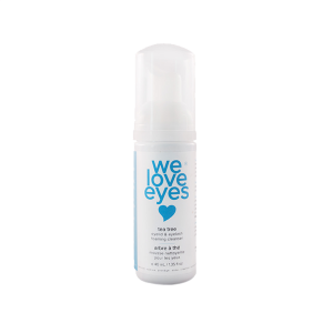 We Love Eyes   Tea Tree Eyelid Foaming Cleanser   ($20)