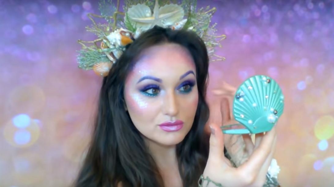 #lovelieriehalloffame: Atlantis Fae's Mermaid Makeup Tutorial