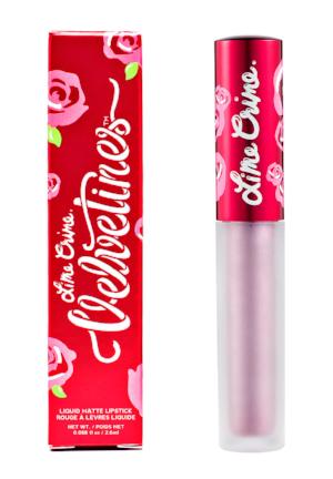 Lime Crime 's  Velvetines Matte Lipstick In  Mercury ($20)