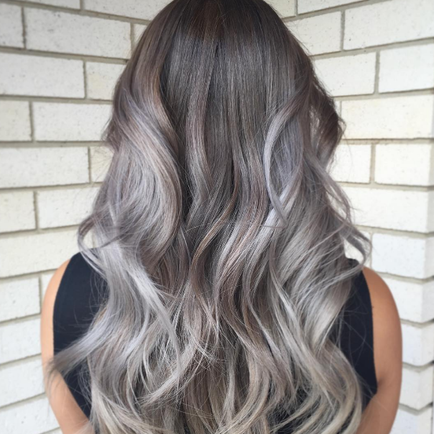 Yay Or Nay: Grey Ombre Hair — lovelierie