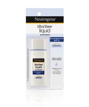 Neutrogena's   Ultra Sheer Liquid Daily Sunscreen   ($12.49)