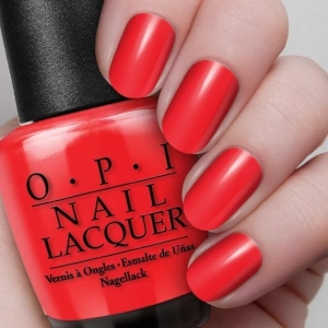 OPI   Big Apple Red   (price varies by retailer)