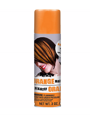 Party City   Orange Hair Spray   ($3.99)
