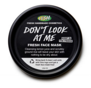 Lush 's  Don't Look at Me Fresh Face Mask  ($12.95)