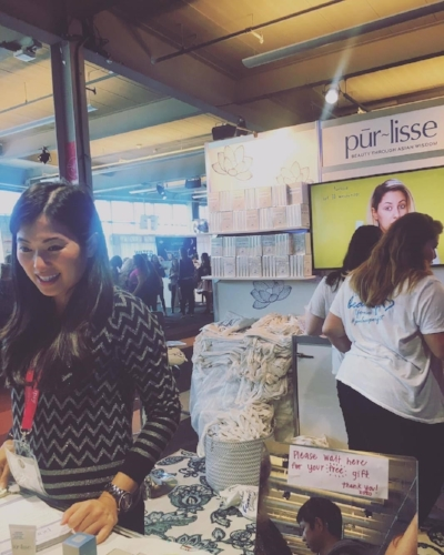 Jennifer Yen, founder of  Pur~lisse  beauty. (Did you know she used to be an actress in  Power Rangers ?)