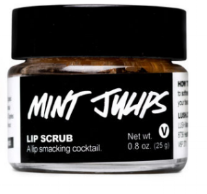Lush Cosmetics '  Mint Julips Lip Scrub   ($10.95)