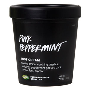 Lush Pink Peppermint Foot Cream ($26.95)