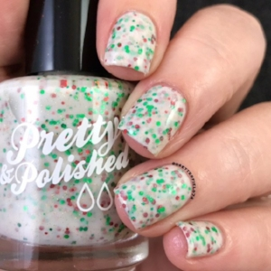 Pretty & Polished's Obligatory Christmas Polish ($8.50)