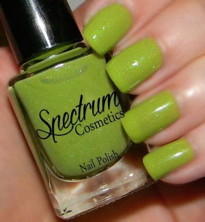 "Spectrum Cosmetics '  ""Inch Worm"" Polish   ($4.50+)"