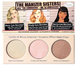 """theBalm 's """"The Manizer Sisters"""" Palette  ($28)"""