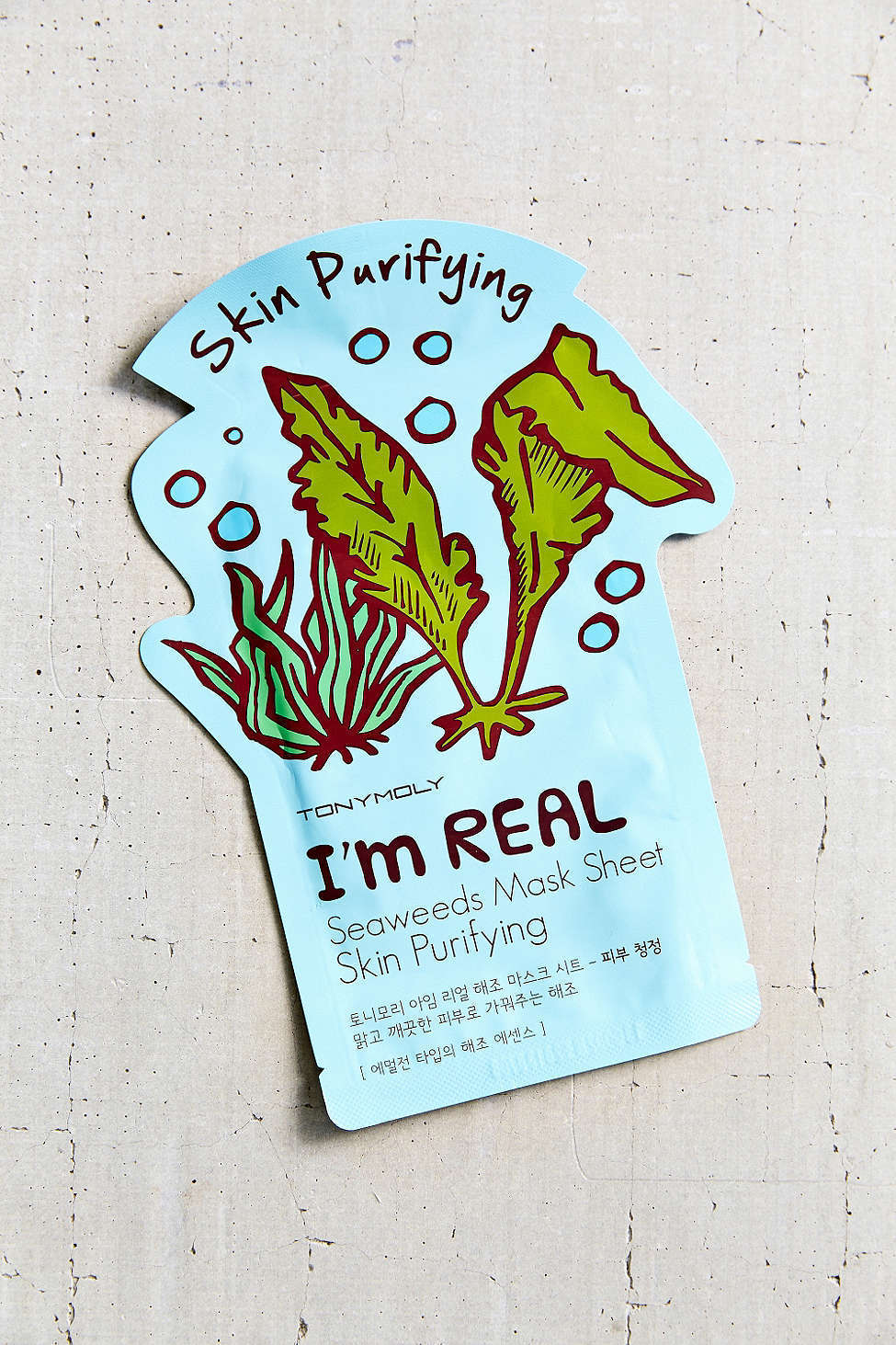TonyMoly  I'm Real Mask Sheet  via Urban Outfitters   ($3)