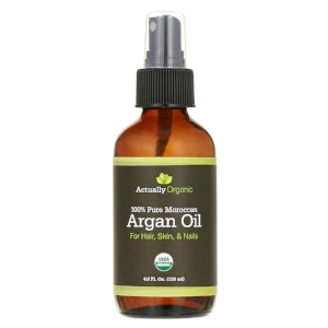 Actually Organic 's  Argan Oil   (  $23.99)-  Via Amazon