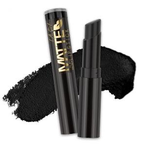 "L.A. GIRL Cosmetics'Matte Flat Velvet Lipstick In ""Raven""($5)"