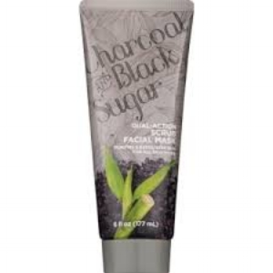 CVS' Charcoal & Black Sugar Dual-Action Scrub Facial Mask (price varies by retailer)