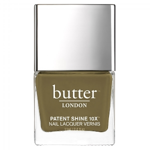 butter LONDON 's  British Khaki   ($18)