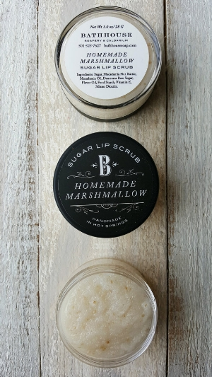 bathhouse 's  Homemade Marshmallow Lip Scrub  ( $12)