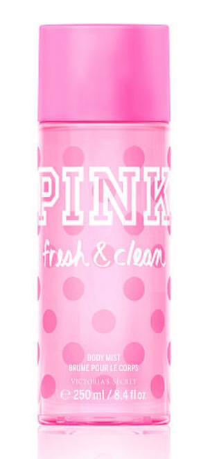 Victoria's Secret   Pink   Fresh & Clean Body Mist   ( ≈ $20)
