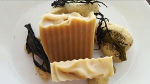 SherisSoapsNSuch' s  Lemongrass & Kelp Coconut Milk Soap  ($5.59)