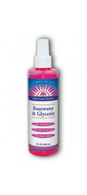 Heritage Store 's  Rosewater & Glycerin Spray  ($10.49)