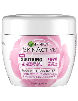 Garnier 's  Soothing 3-In-1 Face Moisturizer With Rose Water   (price varies by retailer)