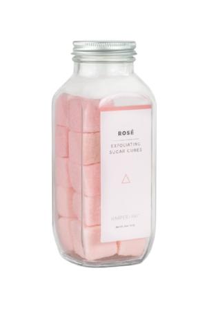 Harper + Ari 's  Rosé Exfoliating Sugar Cubes  ($24)