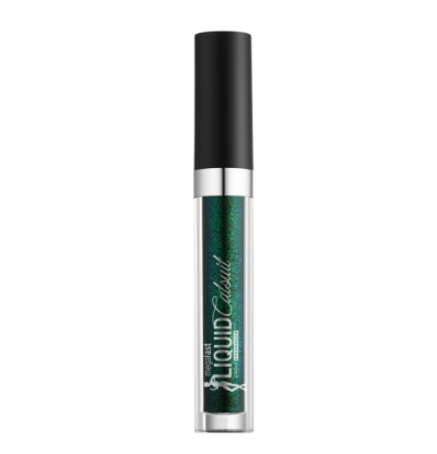 wet n wild   Liquid Catsuit Eyeshadow In Emerald Glaze   ($4.99)