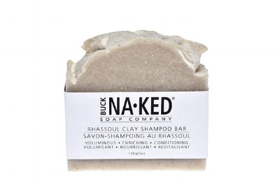BuckNakedSoapCompany 's  Rhassoul Clay Shampoo Bar   ($6.65)